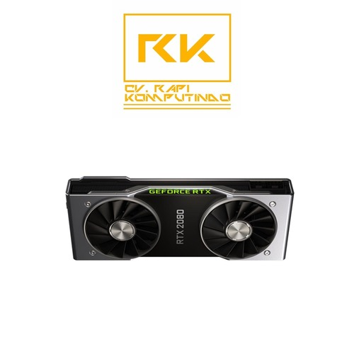 NVIDIA Official GeForce RTX 2080 Founders Edition GPU in