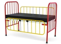 Pediateric Bed With Side Railing