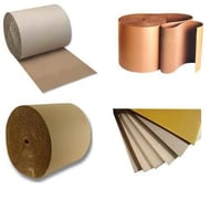 Plain Corrugated Packaging Paper