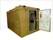 PUF Insulated Container With Single Door