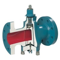 Green And Red Lubricated Plug Valve