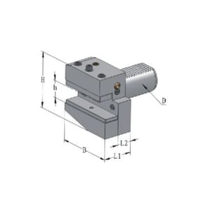 Round VDI Toolholder (Form A2)
