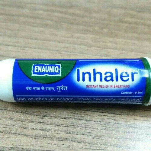 Ayurvedic Inhaler (Instant Relief In Breathing)