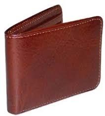 Brown Leather Man Wallets