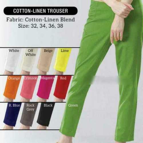 Stylish Ladies Cotton Pants