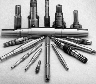 Rugged Structure Automotive Shafts