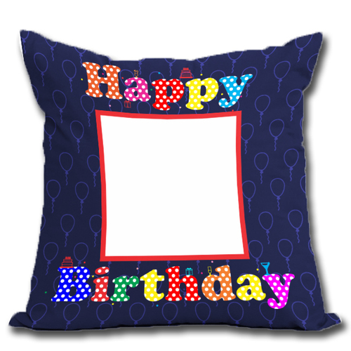 Sublimation Birthday Cushion
