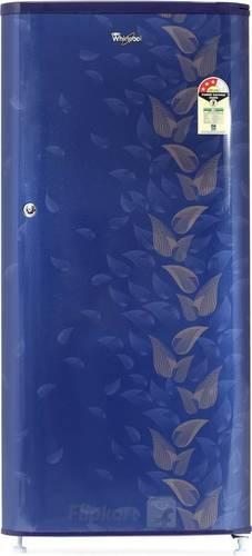 Plastic Whirlpool 190 L Direct Cool Single Door 3 Star Refrigerator (Sapphire Fiesta, Wde 205 3S Cls Plus Sapphire Fiesta-E)