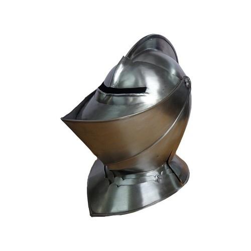 Close Knight Steel Helmets