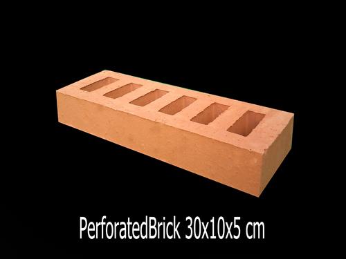 Perforated Bricks 30 X 10 X 5 cm