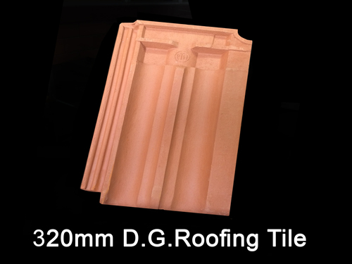 Roofing Tiles Double Groove 320 mm