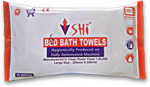 Shi Bed Bath Towel 320 X 320 Mm Size