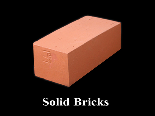 Solid Bricks 230X110X75 mm