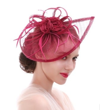 All Color Available Seamless Finish Wedding Ornament Hat