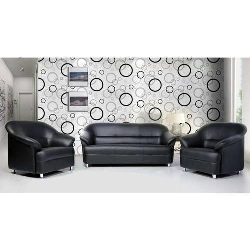Fantastic Black Leather Sofa Set At Best Price In Dewas Madhya Creativecarmelina Interior Chair Design Creativecarmelinacom
