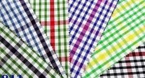 Check Design Cotton Fabrics
