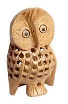 Impeccable Finish Owl Bird Statue