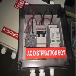 Stainless Steel Solar Ac Distribution Box