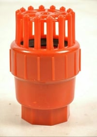 Compact Design Red Air Valve