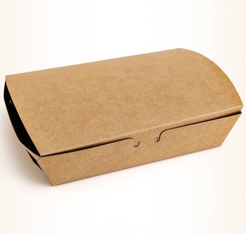 Custom Carton Lid Takeout Packing Box Kraft