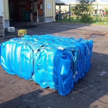HDPE Blue Drums Regrind