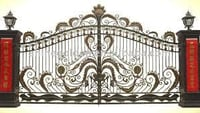 Automatic Mild Steel Gate