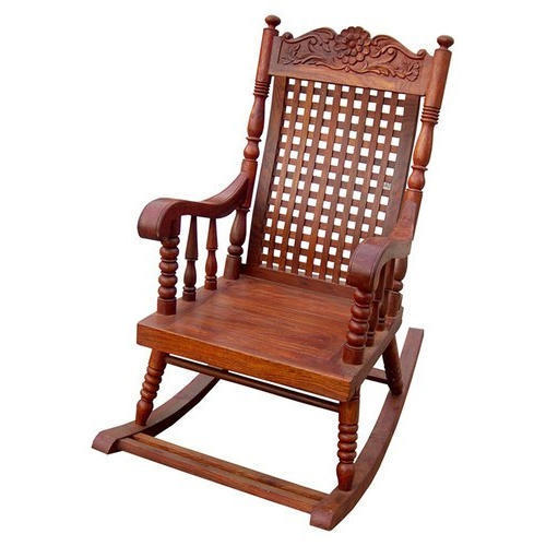 Pleasant Durable Wooden Rocking Chair At Best Price In Mumbai Ibusinesslaw Wood Chair Design Ideas Ibusinesslaworg