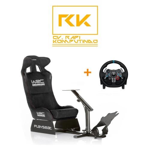 859204fee94 Playseat WRC + Logitech G29 Racing Wheel in Jakarta, Jakarta - CV ...