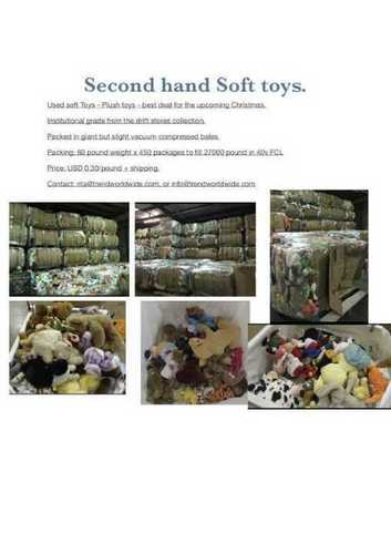 Second Hand Soft Toys