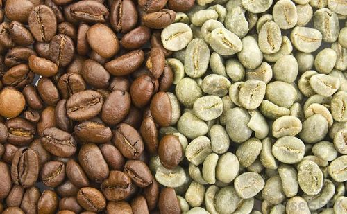 Arabica And Robusta Coffee Beans Processing Type: Raw