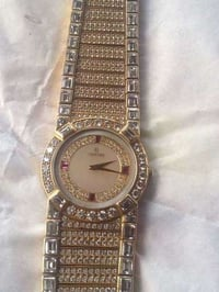 Designer Gold Diamond Watch