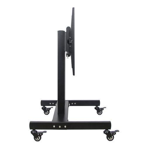 Black Plasma Tv Trolley Stand