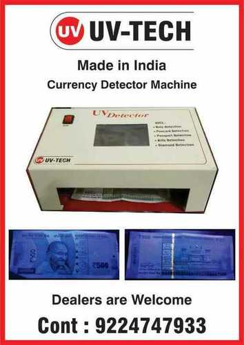 Fake Note Detector Machine