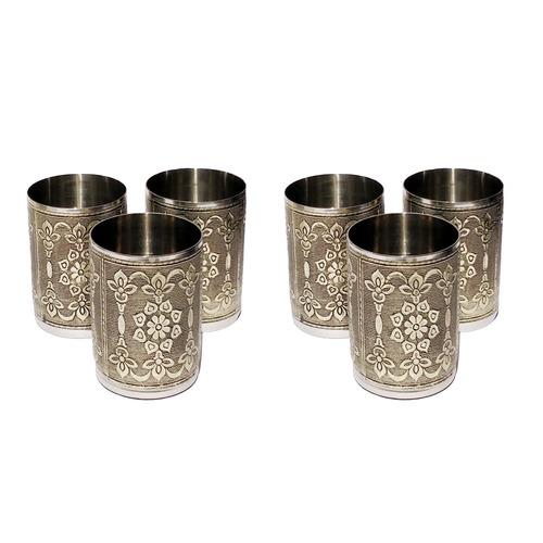 Designer Stainless Steel Drinking Glass