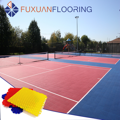 Outdoor Or Indoor PP Interlocking Sport Plastic Flooring