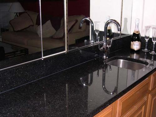 Black Granite Countertop at Best Price in Udaipur, Rajasthan ...