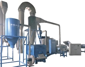 PPPE Films Dry Washing Machine