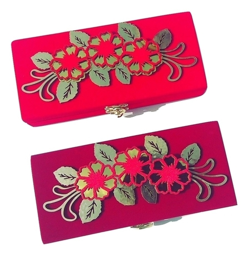 Parvenu Shagun Flower Cash Box or Gift Box