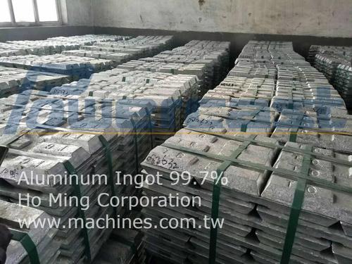 99.7% Aluminum Ingot