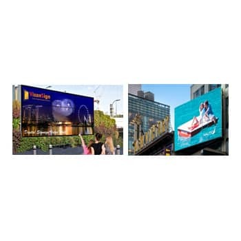 Outdoor LED Display Screen Application: Marketing