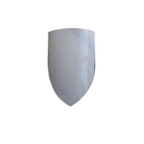 Plain White Steel Heater Shield