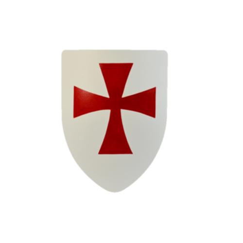 Templar Steel Battle Shield