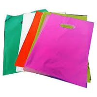 Colored Plastic Carry Bags
