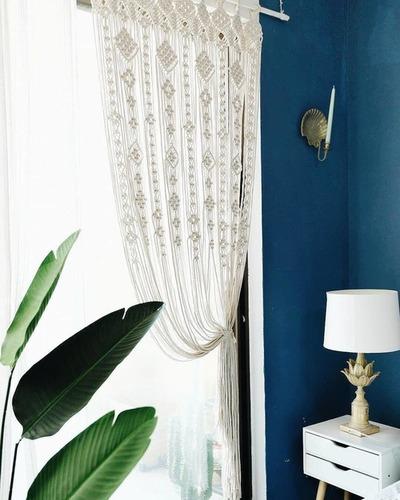 Home And Living Room Macrame Window Curtain - MONICA EXIM
