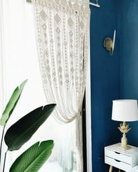 Home And Living Room Macrame Window Curtain