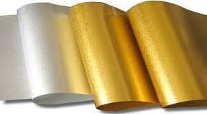 Metallized And Holographic Papers