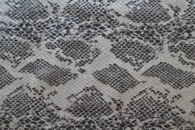 Natural Printed Leather