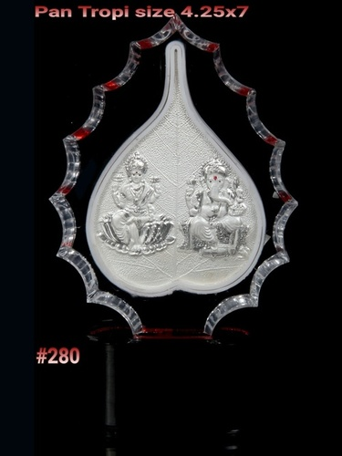 Ganesh Laxmi Leaf Frame