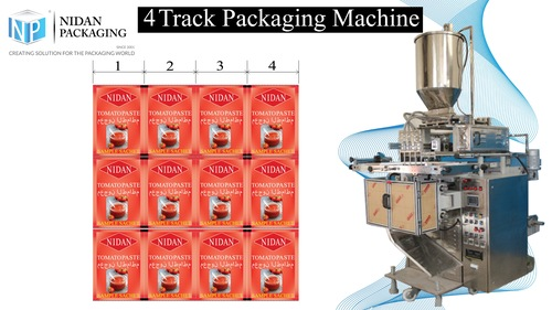 Juice Pouch Packaging Machine