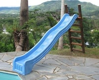Effective Blue Water Slide